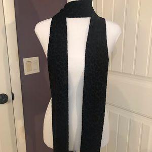 Express burnout velvet long scarf, used